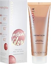 Voňavky, Parfémy, kozmetika Hydratačná maska pre žiarivosť pokožky - Lancaster Instant Glow Peel-Off Pink Gold Mask