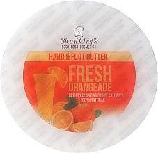 """Voňavky, Parfémy, kozmetika Krémový olej na ruky a nohy """"Fresh Orange"""" - Hristina Stani Chef's Fresh Orangeade Hand Foot Butter"""