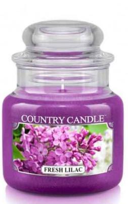 """Vonná sviečka """"Čerstvá šeľa"""" (Tuba) - Country Candle Fresh Lilac — Obrázky N1"""