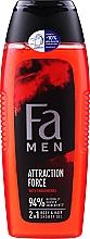 Voňavky, Parfémy, kozmetika Sprchový gél - Fa Attraction Force Shower Gel