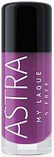 Voňavky, Parfémy, kozmetika Lak na nechty - Astra Make-up My Laque 5 Free