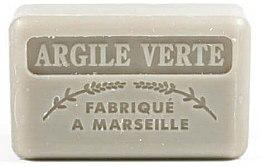 Voňavky, Parfémy, kozmetika Marseillské mydlo so zelenou hlinou - Foufour Savonnette Marseillaise Argile Verte