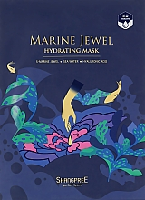 Voňavky, Parfémy, kozmetika Hydratačná maska na tvár - Shangpree Marine Jewel Hydrating Mask