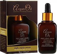 Voňavky, Parfémy, kozmetika s extraktom arktickým čučoriedok - Xpel Marketing Ltd Argan Oil Night Repair Serum