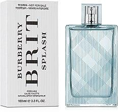 Voňavky, Parfémy, kozmetika Burberry Brit Splash for Men - Toaletná voda(tester s uzáverom)