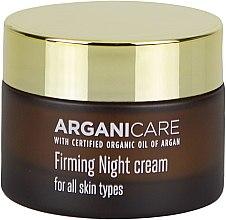 Voňavky, Parfémy, kozmetika Spevňujúci nočný krém na tvár - Arganicare Shea Butter Firming Night Cream