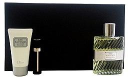 Voňavky, Parfémy, kozmetika Dior Eau Sauvage - Sada (edt 100ml + sh/g 50ml + edt 3ml)
