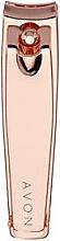 Voňavky, Parfémy, kozmetika Kliešte, ružové zlato - Avon Rose Gold Nail Clippers