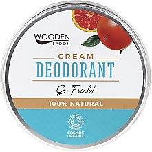 Voňavky, Parfémy, kozmetika Dezodoračný krém - Wooden Spoon Go Fresh Cream Deodorant