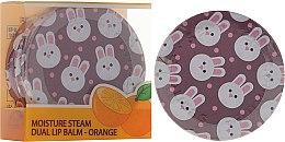 Voňavky, Parfémy, kozmetika Dvojitý pomarančový balzam na pery v pohári - SeaNtree Moisture Steam Dual Lip Balm Orange 3
