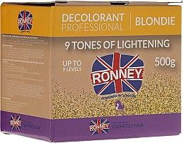 Voňavky, Parfémy, kozmetika Prášok na zosvetlenie vlasov do 9 tónov - Ronney Decolorant Professional Blondie