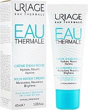 Voňavky, Parfémy, kozmetika Obohatený hydratačný krém - Uriage Eau Thermale Rich Water Cream
