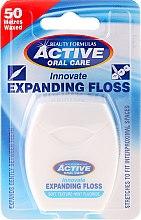 Voňavky, Parfémy, kozmetika Mäkká dentálna niť s mätou a fluoridom - Beauty Formulas Active Oral Care Expanding Floss Mint With Fluor 50m