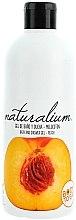 """Voňavky, Parfémy, kozmetika Výživný sprchový gél krém """"Broskyňa"""" - Naturalium Bath And Shower Gel Peach"""