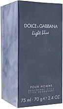 Voňavky, Parfémy, kozmetika Dolce & Gabbana Light Blue pour Homme - Deodorantová tyčinka