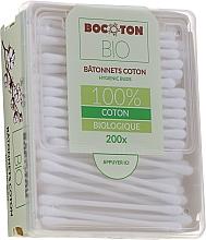 Voňavky, Parfémy, kozmetika Organické vatové tyčinky, 200 ks - Bocoton Bio