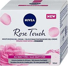 Voňavky, Parfémy, kozmetika Hydratačný gélový krém - Nivea Rose Touch