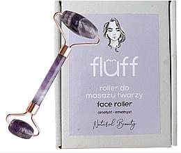 Voňavky, Parfémy, kozmetika Masážny prístroj na tvár Ametyst - Fluff Face Roller Ametyst