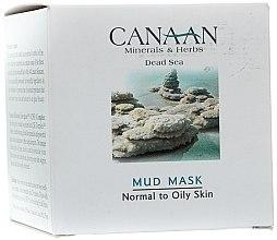 Voňavky, Parfémy, kozmetika Bahenná maska pre normálnu a mastnú pleť - Canaan Minerals & Herbs Mud Mask Normal to Oily Skin