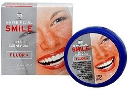Bieliacy prášok pre zuby - VitalCare White Pearl Smile Tooth Whitening Powder Fluor+ — Obrázky N3