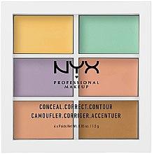 Voňavky, Parfémy, kozmetika Paleta korektorov na tvár - NYX Professional Makeup Color Correcting Palette