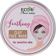 """Voňavky, Parfémy, kozmetika Maska na tvár """"Upokojujúca"""" - Eco U Soothing Clay Face Mask For Sensative Skin"""