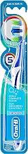 Voňavky, Parfémy, kozmetika Zubná kefka, tmavo modrá - Oral-B Complete 5 Ways Clean 40 Medium