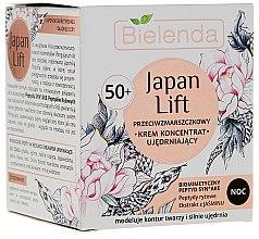 Voňavky, Parfémy, kozmetika Nočný krém koncentrát spevnujúci 50+ - Bielenda Japan Lift Night Cream 50+