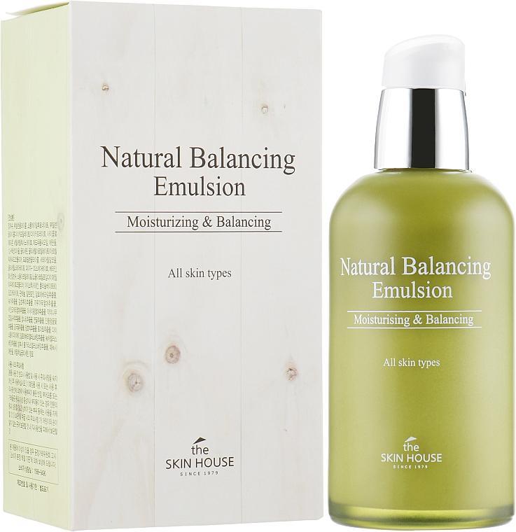 Emulzia na obnovenie rovnováhy pokožky - The Skin House Natural Balancing Emulsion