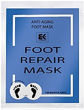 Voňavky, Parfémy, kozmetika Hydratačná maska na nohy - Brazil Keratin Foot Rapair Mask
