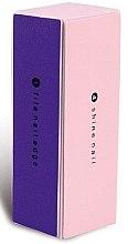 Voňavky, Parfémy, kozmetika Leštička pre zmatnenie nechtov, 9307, ružovo fialová - Donegal