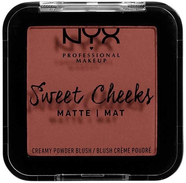 Matná lícenka - NYX Professional Makeup Sweet Cheeks Matte Blush