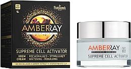 """Voňavky, Parfémy, kozmetika Jantárny nočný krém na tvár """"Bunkový aktivátor"""" - Farmona Amberray Night Cream"""