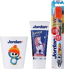 """Voňavky, Parfémy, kozmetika Sada """"Penguin 2"""" - Jordan Junior (toothpaste/50ml + toothbrush/1pc + cup)"""