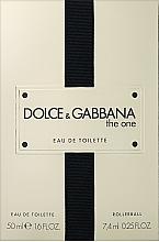 Voňavky, Parfémy, kozmetika Dolce&Gabbana The One - Sada (edt/50ml + edt/7.4ml)