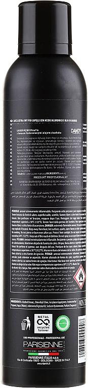 Lak na vlasy silnej fixácie s kyselinou hyalurónovou - Niamh Hairconcept Dandy Hair Spray Extra Dry Ultra Fix
