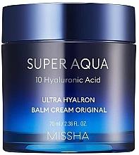 Voňavky, Parfémy, kozmetika Hydratačný balzamový krém na tvár - Missha Super Aqua Ultra Hyalron Balm Cream Original