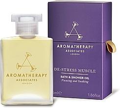 Voňavky, Parfémy, kozmetika Olej do kúpeľa a sprchy - Aromatherapy Associates De-Stress Muscle Bath & Shower Oil