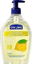 Voňavky, Parfémy, kozmetika Kuchynské mydlo - On Line Kitchen Hand Wash Citrus Soap