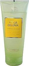 Voňavky, Parfémy, kozmetika Maurer & Wirtz 4711 Aqua Colognia Lemon & Ginger - Sprchový gél