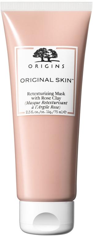 Maska s ružovou hlinou na zlepšenie textúry pokožky - Origins Original Skin Retexturizing Mask With Rose Clay