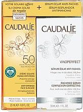 Voňavky, Parfémy, kozmetika Sada - Caudalie Vinoperfect Set (ser/30ml + sun/cr/25ml)