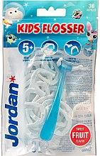 Voňavky, Parfémy, kozmetika Sada - Jordan Kids Flosser (floss/1szt+refils/36szt)