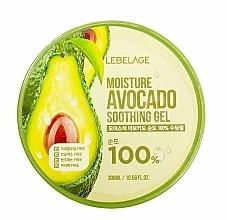 Voňavky, Parfémy, kozmetika Gél na tvár - Lebelage Moisture Avocado 100% Soothing Gel