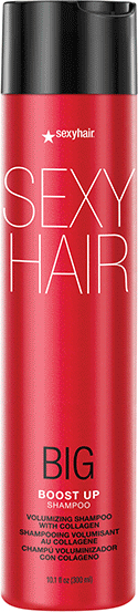 Šampón na vlasy - SexyHair Big Boost Up Volumizing Shampoo Collagen — Obrázky N1