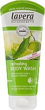 """Voňavky, Parfémy, kozmetika Osviežujúci sprchový gél """"Lime a Verbena"""" - Lavera Organic Lime & Verbena Refreshing Body Wash"""