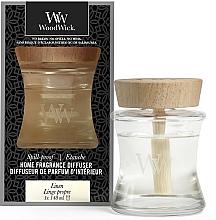 Voňavky, Parfémy, kozmetika Aromatický difúzor - Woodwick Home Fragrance Diffuser Linen