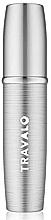 Voňavky, Parfémy, kozmetika Plniteľný rozprašovač parfumov, strieborný - Travalo Lux Silver Refillable Spray