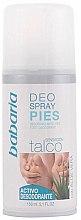Voňavky, Parfémy, kozmetika Sprej na nohy - Babaria Foot Deodorant Spray