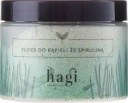 Voňavky, Parfémy, kozmetika Púder pre kúpeľ so spirulinou - Hagi Bath Puder